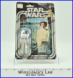 Princess Leia Organa MOSC Sealed 12 Back Star Wars 1977 Vintage Kenner Figure