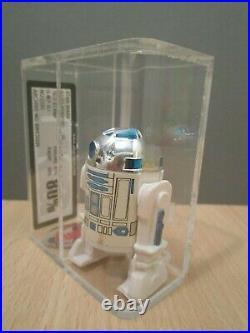 R2 D2 Star Wars Figur von Kenner 1977 NO COO UKG 80 % vintage no AFA