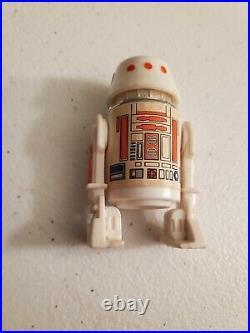 R5-D4 Droid RED BAR 1978 Kenner Star Wars Vintage Action Figure RARE