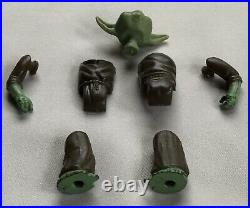 RARE 1980 Vintage Star Wars Yoda Action Figure Non Sonic Welded NO Coo No Weld