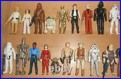 Rare 102 Vintage Star Wars Kenner Loose Action Figures From 1977 To 1985