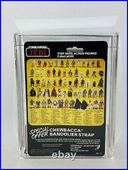 Rare Vintage Star Wars Palitoy 4-LOM ROTJ Carded Action Figure MOC UKG75 AFA