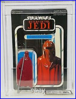 Rare Vintage Star Wars Palitoy Emperors Royal Guard Carded Figure MOC UKG75 AFA