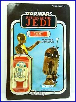Rotj R2-d2 Figure Moc Vintage Star Wars Kenner 1977 1983