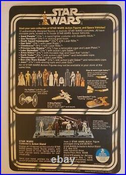 STAR WARS HAN SOLO SMALL HEAD VINTAGE FIGURE 1977 KENNER original pkg. Rare