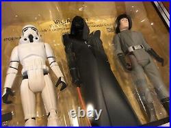 STAR WARS VINTAGE STYLE 12 Darth Vader JUMBO 3 FIGURES SET GENTLE GIANT RARE