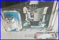Star Wars 1979 R2D2 21-Back Vintage AFA 80 Figure