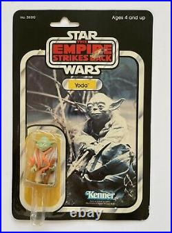 Star Wars 1980 Yoda 32 Back Empire Strikes Back ESB Vtg MOC Kenner Action Figure