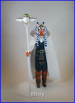 Star Wars AHSOKA THE WHITE & MORAI Rebels Jumbo Retro Vintage Custom 12 Figure