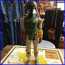 Star Wars BOBA FETT Vintage 12 Inch Scale Action Figure Kenner 1978 USED