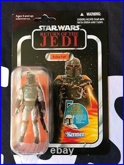 Star Wars BOBA FETT Vintage Collection VC09 RETURN of the JEDI with Figure Shield