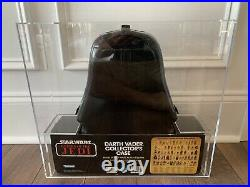 Star Wars Darth Vader Action Figure Case Misb Kenner Afa 80 Vintage 1983 Rotj