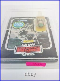 Star Wars ESB Yoda Vintage Kenner Action Figure 45a Back, Unopened Unpunched