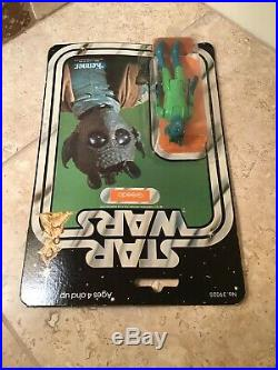 Star Wars Greedo Carded 1977 Vintage Unopened Action Figure Excellent Condition