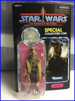 Star Wars Haslab The Vintage Collection Yak Face Action Figure with POTF Coin