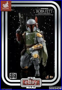 Star Wars, Hot Toys, Boba Fett, 40TH Anniversary, Vintage Colour, Kenner Figure. New