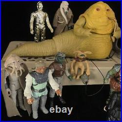 Star Wars JABBA Action Figures Bundle PlaySet Vintage Kenner Toy Return of Jedi