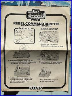 Star Wars Kenner Rebel Command Center Adventure Play Set Vintage Bagged Figures