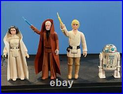 Star Wars Kenner Vintage Darth Vader Case 31 Figures All With Weapons 12 Back