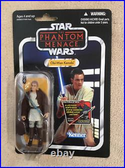Star Wars Obi-Wan Kenobi Figure Vintage Collection VC76 The Phantom Menace