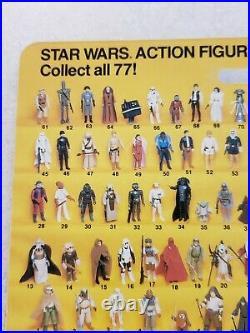 Star Wars ROTJ Darth Vader MOC Signed Dave Prowse Figure Vintage Carded David