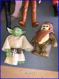 Star Wars ROTJ Figures 3-3/4 VINTAGE Gorgeous Lot Minty With Weapons Kenner