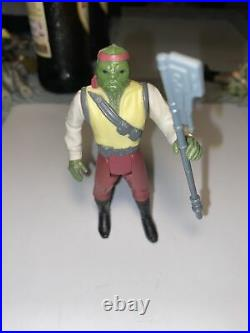 Star Wars Rare Vintage Action Figure Last 17 Barada 1985