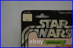 Star Wars Sand People Action Figure 1977 A New Hope MOC 12 Back Kenner Vtg