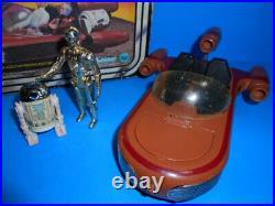 Star Wars Vintage 1977 Special Offer Landspeeder With C-3PO And R2-D2 Figures