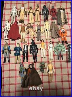 Star Wars Vintage Action Figure Lot Of 27