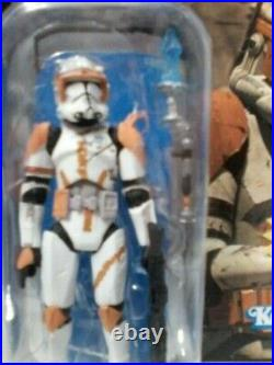 Star Wars Vintage Collection Vc19 Clone Commander Cody Figure Foil Variant New