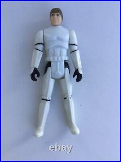 Star Wars Vintage Figure Luke Skywalker Imperial Stormtrooper Last 17 no COO