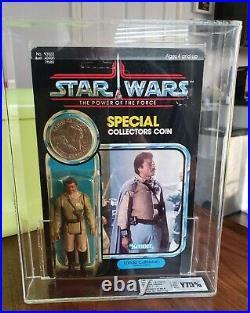 Star Wars Vintage Lando Calrissian General Last 17 UKG75 Figure 90%