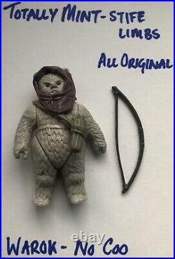 Star Wars Vintage Last 17 Warok Figure Minty/original