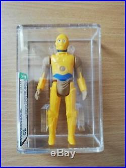 Star Wars Vintage Loose AFA Graded Figure AFA 85 C-3PO Droids