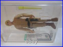 Star Wars Vintage Luke Bespin 1980 AFA Near Mint Grade Kenner Action Figure