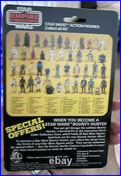 Star Wars Vintage Palitoy ESB Darth Vader 45 Back 45a Carded Figure MOC
