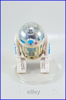 Star Wars Vintage Poch/ PBP R2D2 Figure+Cardback 37/41 type B figure good state
