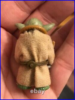 Star Wars Vintage YODA BROWN SNAKE CARAMEL COMPLETE OWNED NEAR 40YEARS 1980