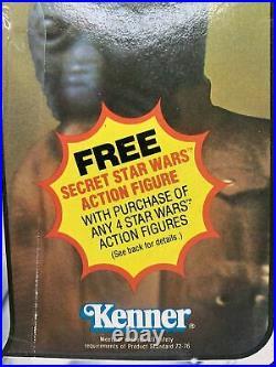 Star Wars Walrus Man Figure Pink Tusk 21 Card Back ESB Vintage 1980 MOC! Kenner