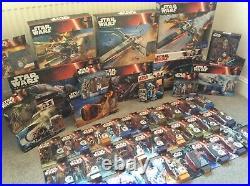 Star Wars lot TFA TLJ, R1 MOC Boxed Vintage. AT ACT, Rare Figures MOC