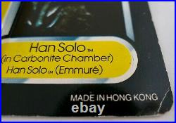 Star Wars vintage Tri-Logo HAN SOLO CARBONITE last 17 MOC Carded action figure