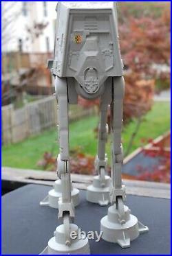 VINTAGE Star Wars COMPLETE AT-AT WALKER + ACTION FIGURES KENNER WORKS! Hoth
