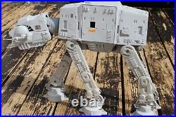 VINTAGE Star Wars COMPLETE AT-AT WALKER + ACTION FIGURE KENNER WORKS! Hoth