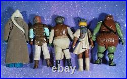 VINTAGE Star Wars COMPLETE Jabba the Hutt PLAYSET ACTION FIGURES KENNER play set