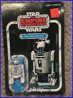 VINTAGE Star Wars Empire Strikes Back (ESB) Kenn R2D2 Figure UNPUNCHED