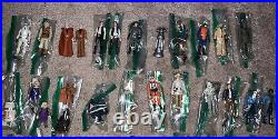 VINTAGE Ultimate Star Wars 77 FIGURES LOT with Original Weapons and Variations
