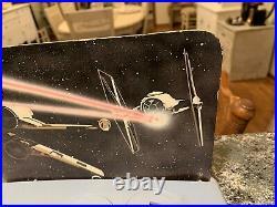 Vintage 1970's Kenner Star Wars Original 12 Figure Display Stand & Display Wow