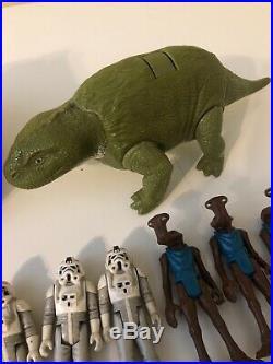 Vintage 1977-1984 Star Wars Figure Lot Of 46 Figures & Some Weapons Bulk Price