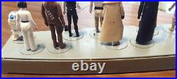 Vintage 1977 Kenner Star Wars Mail Away First 12 Stand & Figures. No Repro